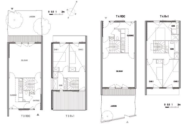 Logement social maison individuelle ventana blog for Achat maison 3f